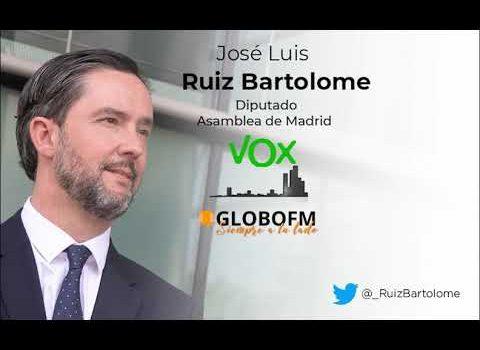Crónicas. Con José Luis Ruiz Bartolomé, diputado de Vox en la Comunidad de Madrid. Lunes 22 junio.
