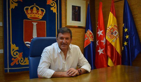 Entrevista a Jose Antonio Sánchez, alcalde de Humanes de Madrid. Lunes 21 sept