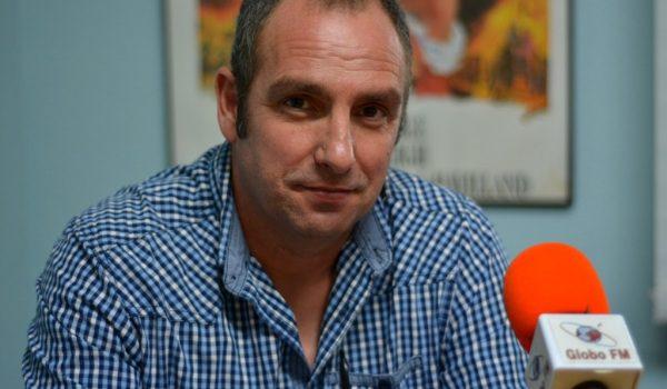 Entrevista a Óscar Alcañiz, portavoz del PP en el Ayuntamiento de Moraleja de Enmedio. 23-11-20
