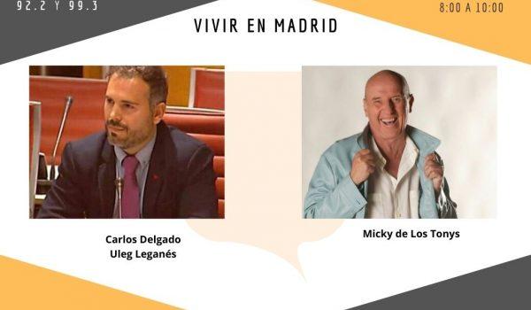 Mañana martes en Vivir en Madrid. 09-03-2021